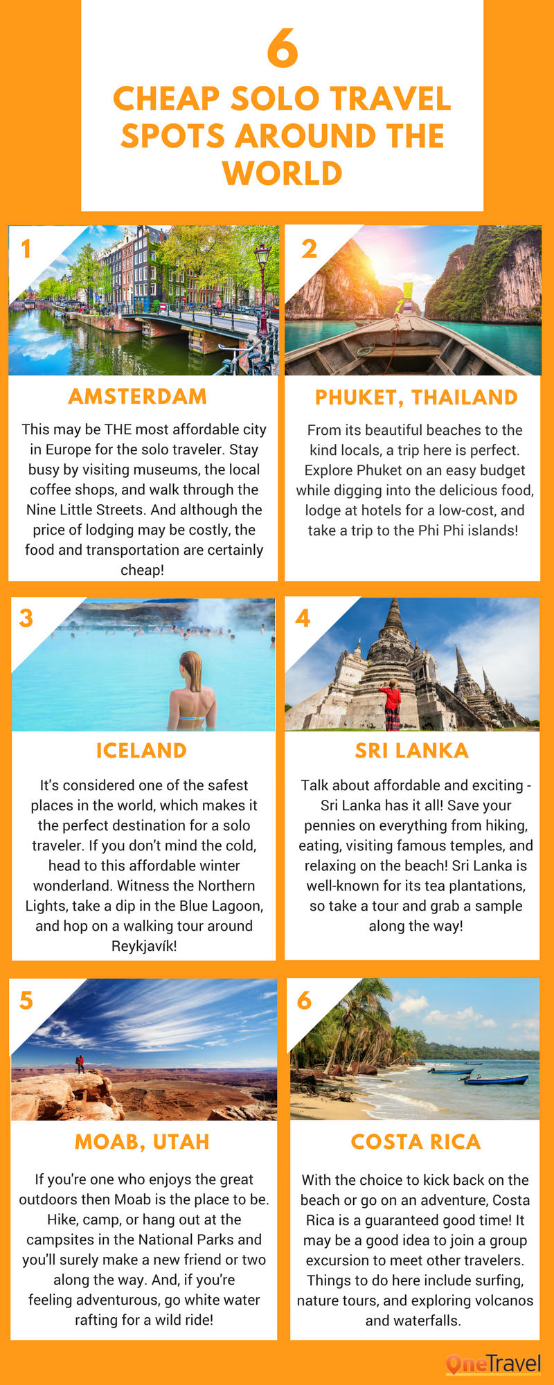 cheap solo travel destinations